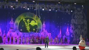 Новогодняя ночь во Дворце спорта